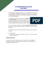 Criterios Para El Analisis de Precios Unitarios