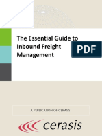The Essential Guide to Inbound Freight Management eBook