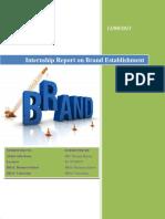 Internship Report on Brand Establishment