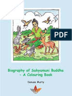 Biography of Sakyamuni Buddha  Colouring Book
