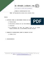 La Obligacion de Paso en El Codigo Civil