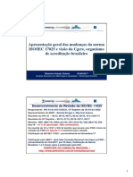 02 MAURICIO .Revisão Da Norma ISO IEC 17025 Visão Da Cgcre Workshop SBM 2017-08-02