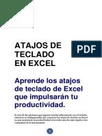 Clase 01 Atajos de Teclado Productivos en Excel Español