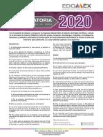 Convoca Obra Edomex 2020