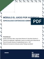MODULO JUICIO POR AUDENCIAS CONTENCIOSO ADMINISTRATIVO.pdf
