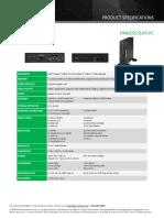 DS77U Specs Update