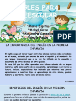 Ingles Para Preescolar .pptx