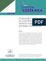 Desempleo en Costa Rica