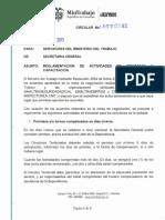 Circular 042 Del 26 de Julio de 2013 Reglamentación Actividades de Bienestar y Capacitación (1)
