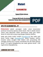 Glukometer