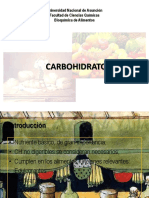Carbohidratos 2018