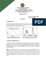 Hidrogramas de hidrologia
