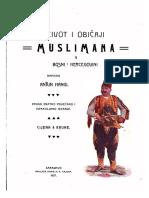 Antun Hangi Život i običaji Muslimana u Bosni i Hercegovini.pdf