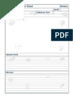 Analysis Sheet.