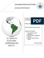 Derecho Electoral Comparado en México