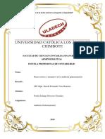Marco Teórico y Normativo de La Auditoría Gubernamental
