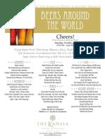 KH Beers Flyer