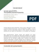 Señalización en El Mercado Laboral