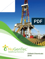 NuGenTec Oilfield Chemicals Brochure 2019