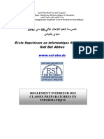 Reglement Interieur ESI-2018