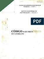 Cod i Go Electrico Ecuator i a No 1973