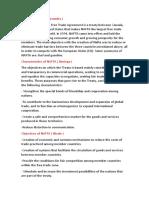 Trabajo de Social Studies - NAFTA