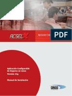 Manual de Instalacion Acselx