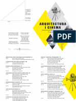 ARQUITECTURA  I CINEMA 2019