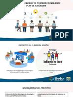 Presentación Concejo Plan de Acción 2019