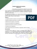 Informe FAHILOS - certisur