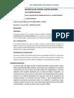 MEMORIA DESCRIPTIVA DE EQUIPO CONTRAINCENDIO DE LA GALERIA UCAYALI ( WAQUIN Y COMPA+æIA S.A.)