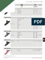 Tabela de Injetores Bosch
