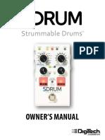 SDRUM Manual 5086301-A Original