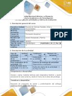 Guía de Actividades y Rubrica de Evaluación - Paso 4 - Aplicar La Propuesta de Acción Creada Para Las Familias