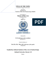 Requirements for the Dissertation-2015 Format (1)
