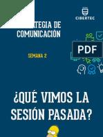 Tema 2 Estrategias de Comunicación