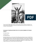 Yugoslav Partisans Rescued 795 Allied Airmen in World War II