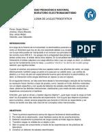 INFORME Fenomenologia de La Electroestatica