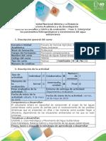 Guia de Actividades - Fase 2 - Interpretar Los Parámetros Hidrogeológicos y Movimientos Del Agua Subterránea. (1)