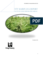 King County marijuana report