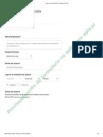 Beca Creación Individual 2019 Plataforma FNA