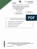 CAPE Unit 1 Management of Business June 2014 P32