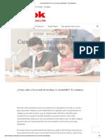Características de Una Escuela Sustentable