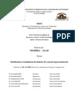Réalisé par _ Thème. Modélisation et simulation du limiteur de courant supraconducteur.pdf