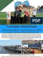 Trumpet Workshop Flyer 2019