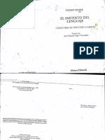 Pinker, El instinto del lenguaje.pdf