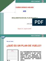 Plan de Vuelo - Tipos - Básico AIS