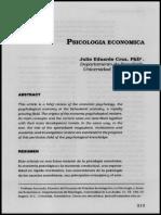 Psicología Económica - Julio Eduardo Cruz.pdf
