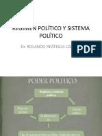 Régimen Político y Sistema Político