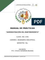 MANUAL DE PRÁCTICAS ADMON DEL MANTENIMIENTO ACTUALIZADO 2018-1.docx